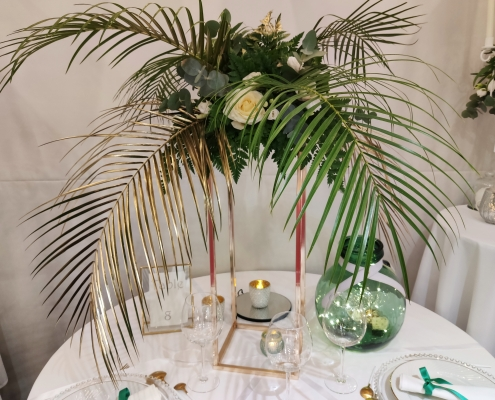 Centre de table Tropical Chic